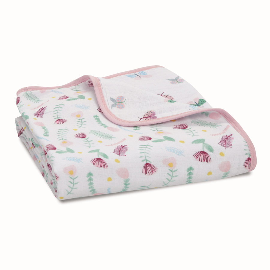 aden® Muslin blomsterteppe fauna - ditsy floral