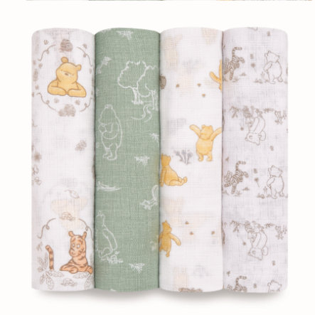 aden ® Puck håndklæder winnie + venner pakke af