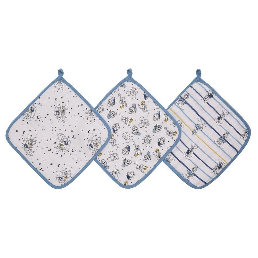 aden ® Disney washandje mickey stargazer 3 pack