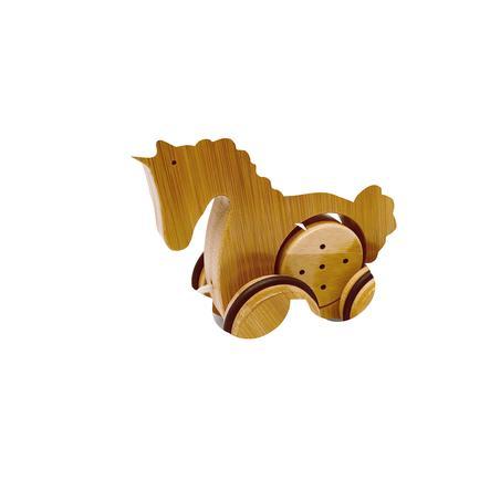 Kinderfeets® Jouet à tirer licorne, bambou