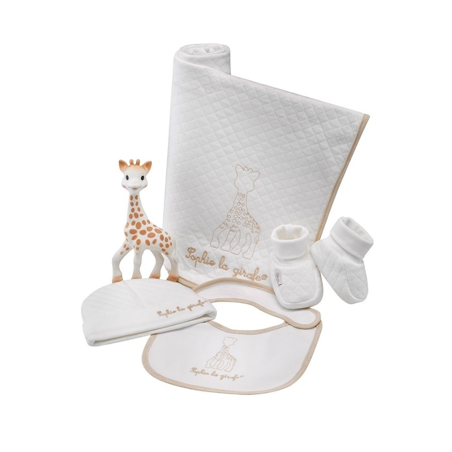 Vulli Sophie la girafe® Mit første outfit So'Pure