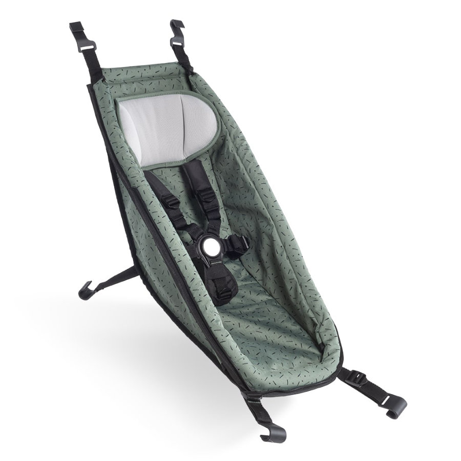 CROOZER Babysæde til Kid modeller Jungle green / black