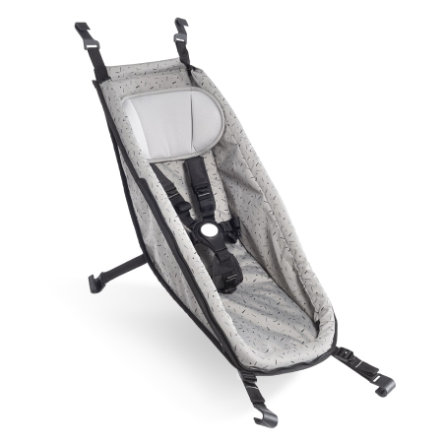 CROOZER Babysitz Stone grey/colored