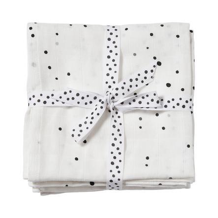 Done by Deer ™ Toalla de escupir 2 Dream paquetes de puntos blancos