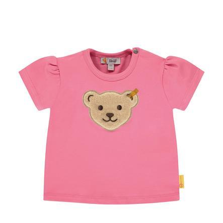 Steiff T-shirt, lyserød nellik