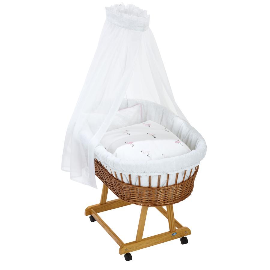 Alvi ® Komplet fødselsbasinet og naturlig, Flamingo
