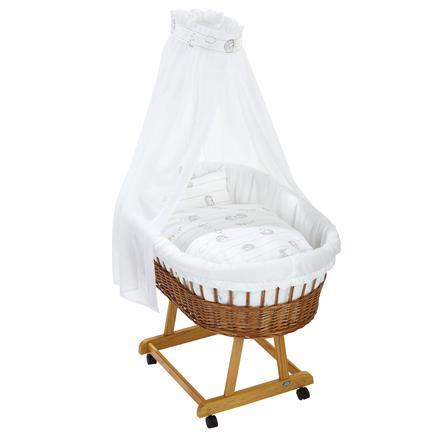 Alvi® Komplettstubenwagen Birthe natur, Stachelfreunde