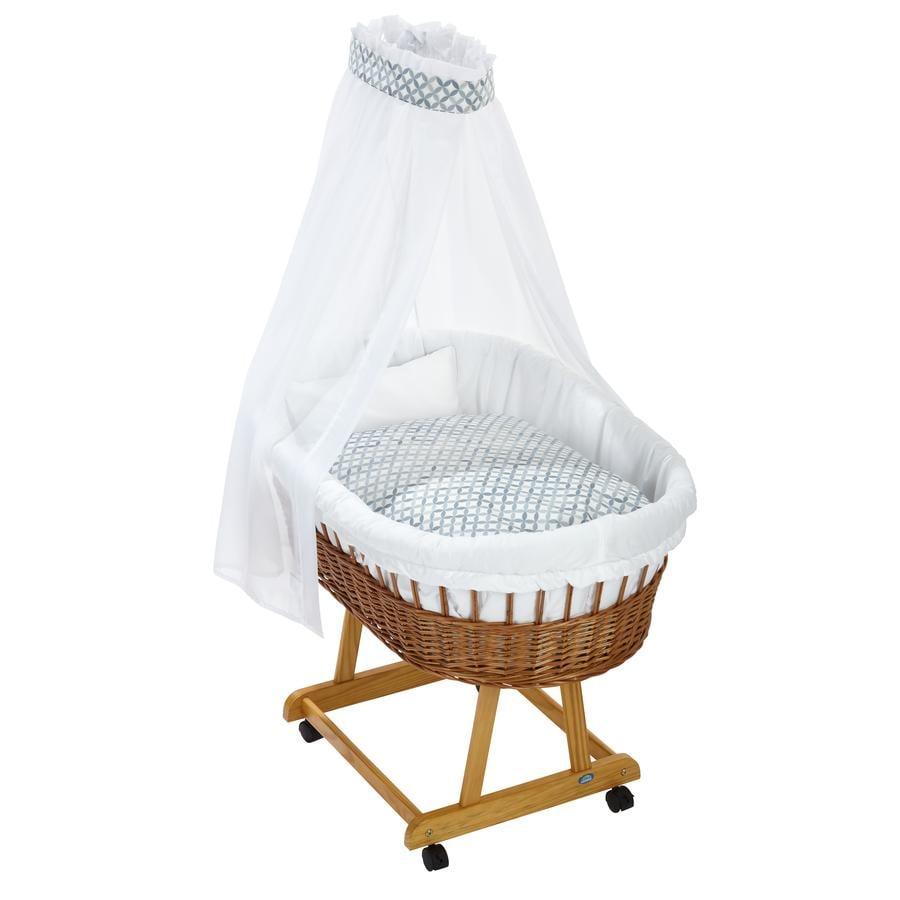 Alvi® Komplettstubenwagen Birthe natur, Mosaik