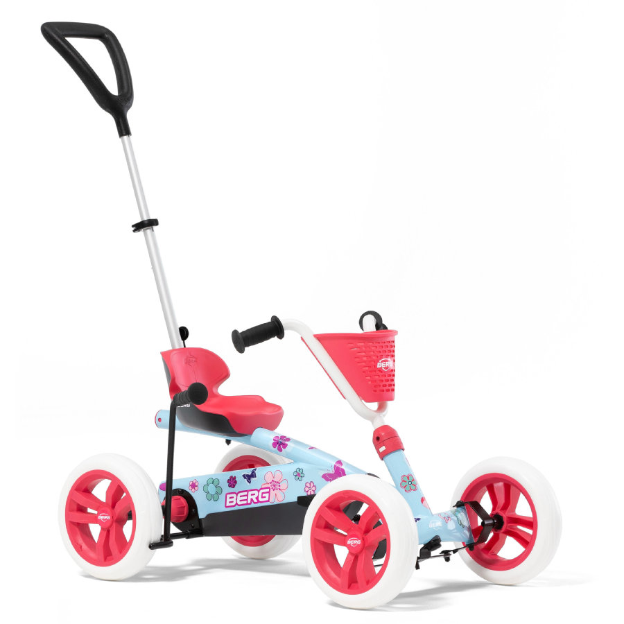 BERG Polkuauto Go-Kart BERG Buzzy Bloom 2-in-1