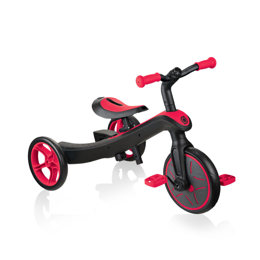 AUTHENTIC SPORTS Globber Explorer Trike 4 in 1 ,rot