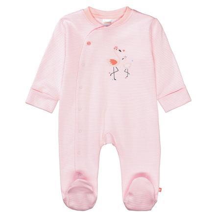 STACCATO Pyjama 1 stk. myk fersken stripete