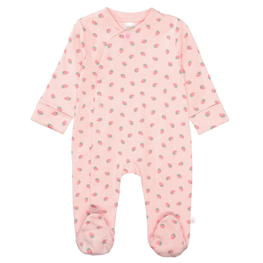 STACCATO Pyjama 1 kpl. pehmeä poskipuna Allover-tulosta