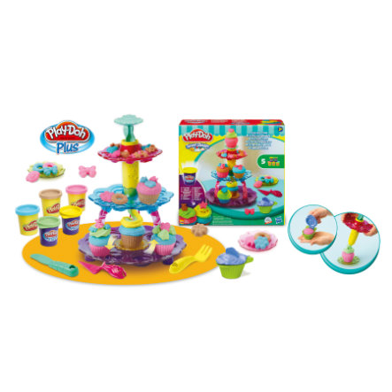Play-Doh Party Taarten toren