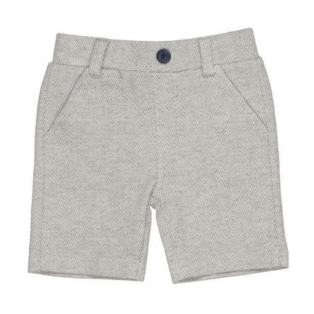 STACCATO Short grey melange structured