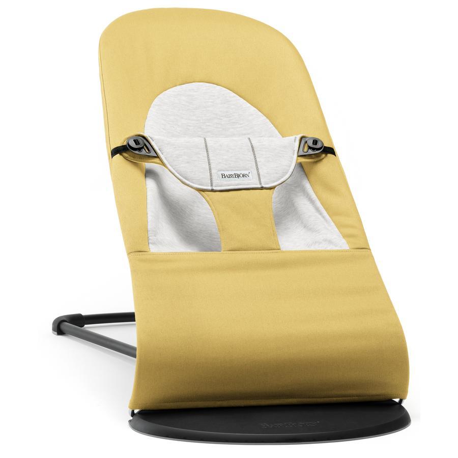 BABYBJÖRN Babywippe Balance Soft Cotton/Jersey Gelb/Grau