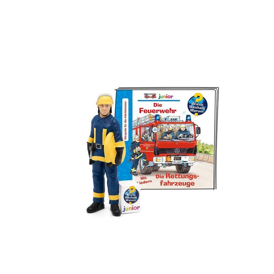 tonies®Wieso Weshalb Warum Junior -Die Feuerwehr/Die Rettungsfahrzeuge