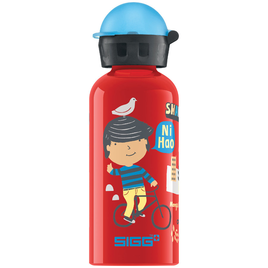 SIGG Trinkflasche 0,4l Design Travel Boy Shanghai