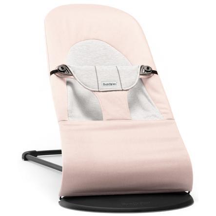 BABYBJÖRN Babywippe Balance Soft Cotton/Jersey Hellrosa/Grau