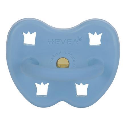 HEVEA napp - Naturgummi / Skye Blue / egnet til kæben / kronen (fra 3 måneder)