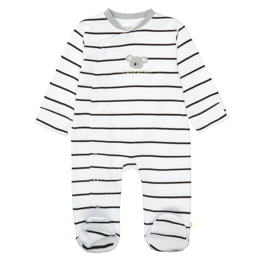 STACCATO Pyjama 1tlg. weiß gestreift