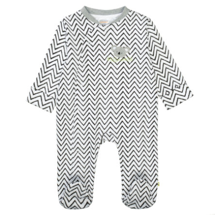 STACCATO Pyjama 1 kpl. valkoinen Allover-painatus