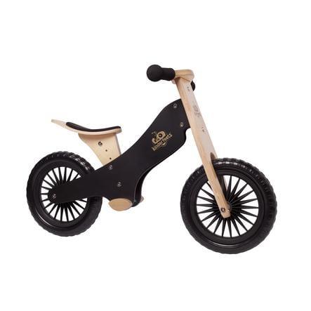 Kinderfeets Bicicleta impulsor madera negro