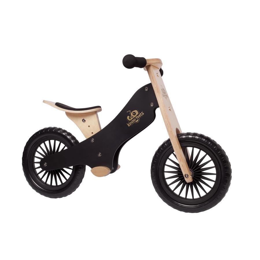 Kinderfeets® Laufrad, schwarz