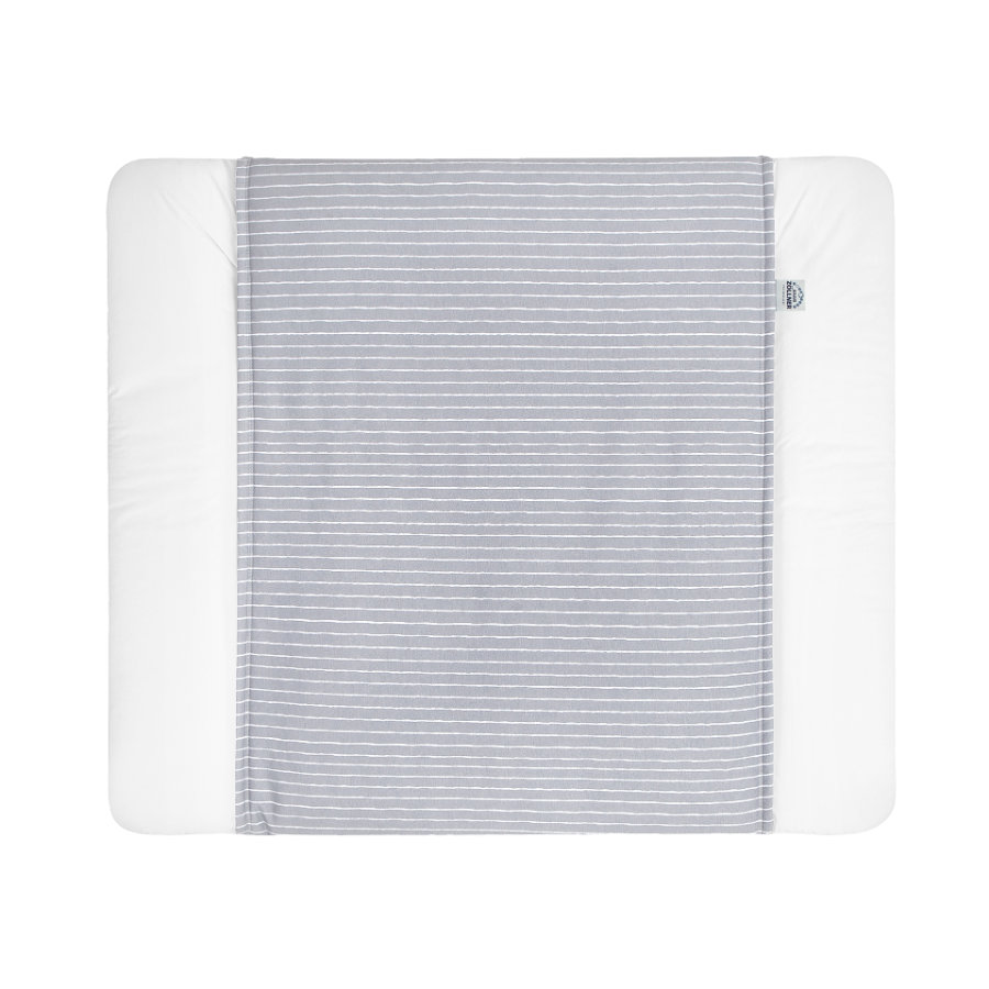 JULIUS ZÖLLNER Schutzbezug für Wickelauflagen Grey Stripes