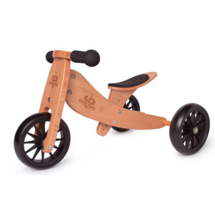 Kinderfeets ® 2-i-1 trehjulet cykel lille tot, bambus