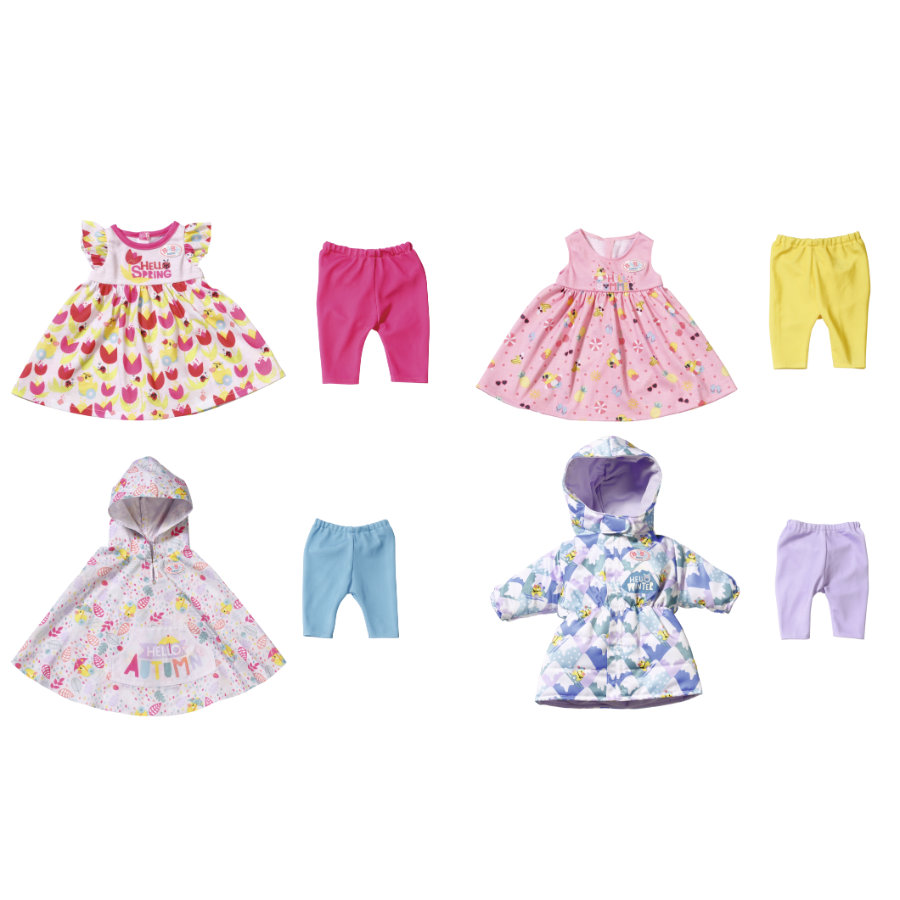 Set 4 stagioni BABY born Deluxe 4 Seasons Set 43 cm