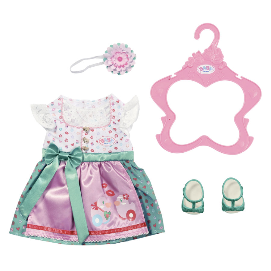 Zapf Creation BABY born Dirndl 43 cm