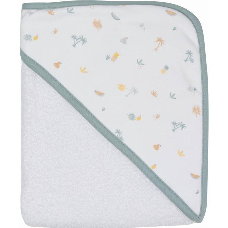 Luma® Babycare Serviette de bain capuche enfant Tropical Island 85x75 cm