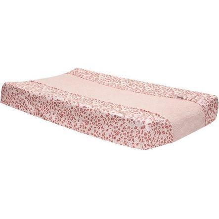 bébé jou® Wickelauflagenbezug Leopard Pink 72x44 cm