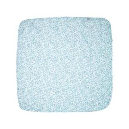 bébé jou® gasbind klud leopard blå 110 x 110 cm
