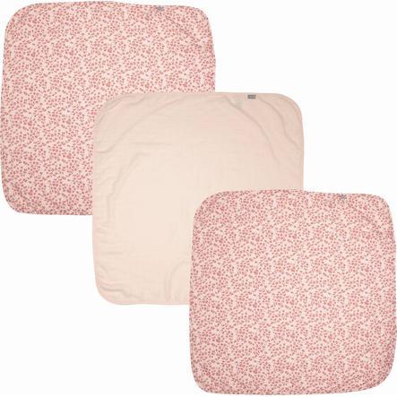 bébé jou® sideharsahuivit 3-pakkaus Leopard Pink 70x70 cm