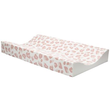bébé jou® Wickelauflagen Leopard Pink 72x44 cm