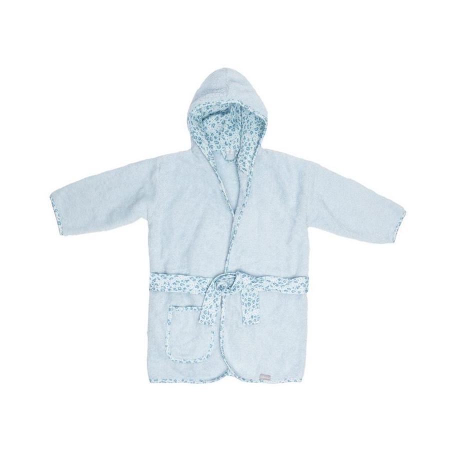 bébé jou® Bademantel Leopard Blue