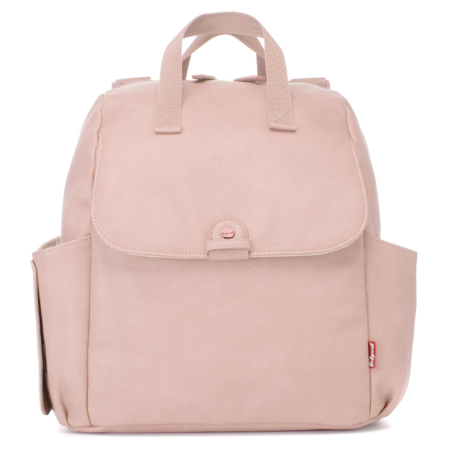 Babymel Wickelrucksack Robyn Convertible Backpack Faux Leather Blush