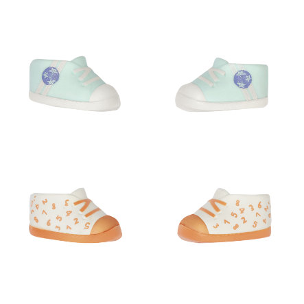 Zapf Creation  Chaussures Baby Annabell® Little 36cm