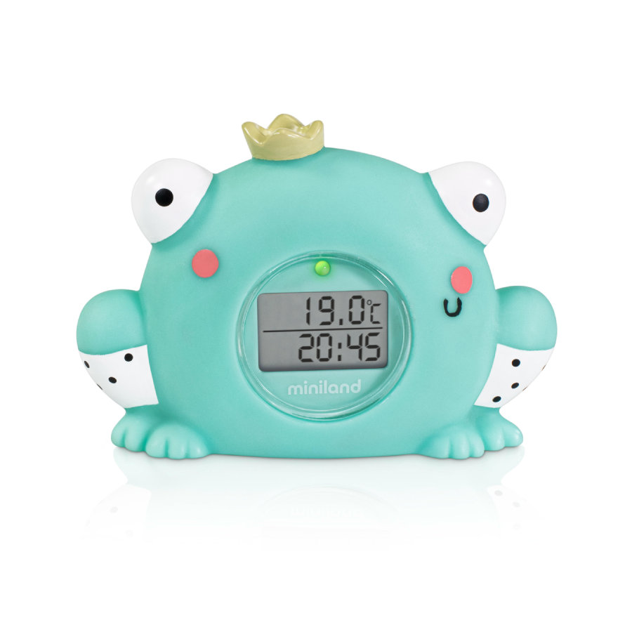 miniland Badethermometer Thermo Bath Magical Frosch