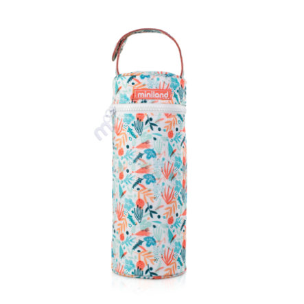 miniland Wärmetasche für Babyflaschen und Thermoskannen thermibag  bunt 350 ml