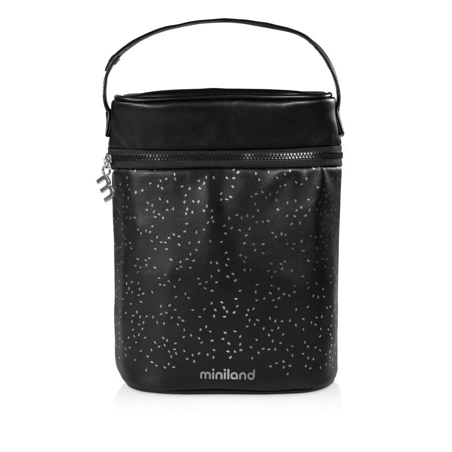 miniland termoizolační taška pro dětské láhve a termosky luxusní stříbro
