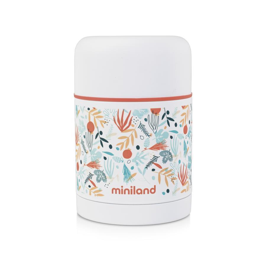 miniland Récipient thermos enfant food thermos multicolore 600 ml