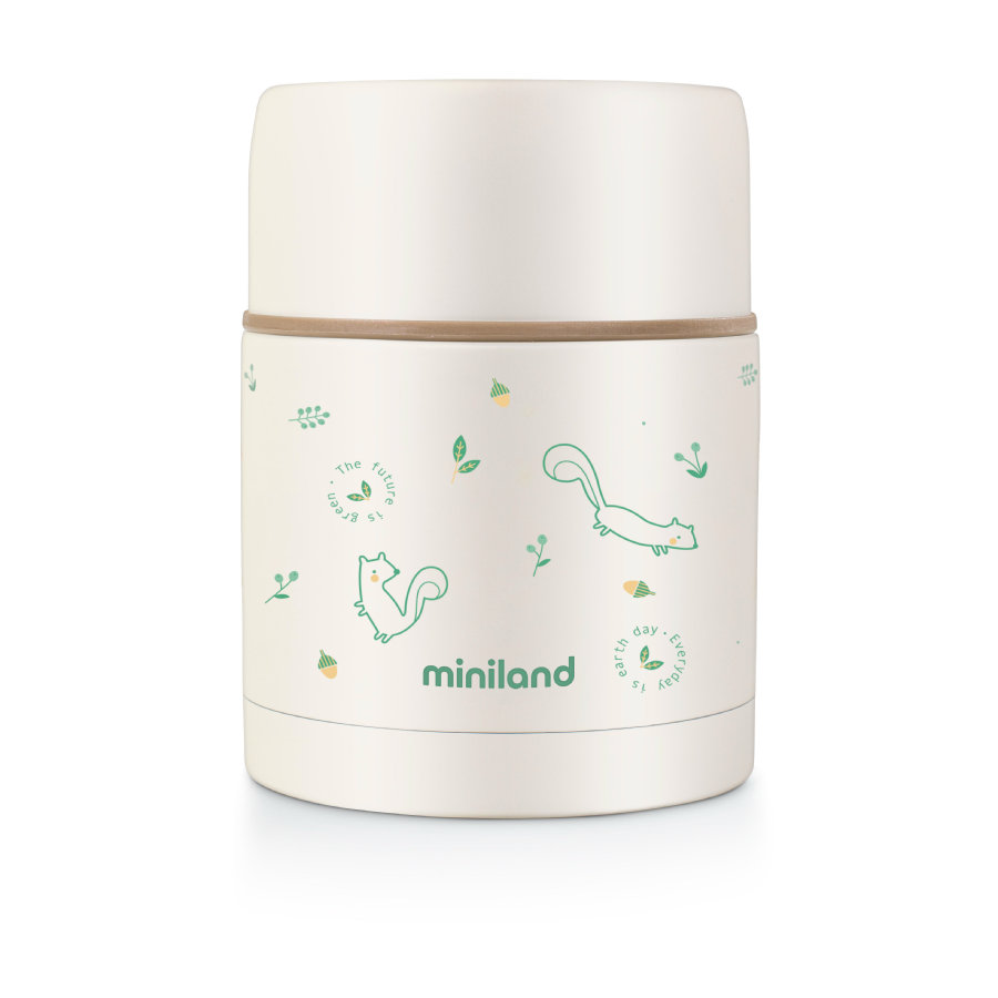 miniland Thermobehälter natur food thermos grün 600 ml