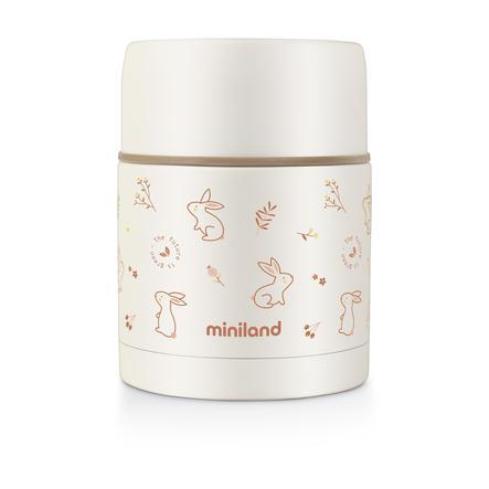 miniland Thermobox thermos per alimenti naturali orange 600 ml