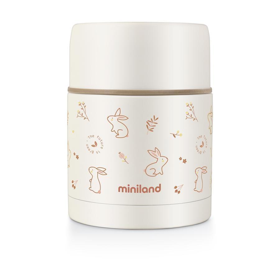 miniland Thermobox naturlig madtermos orange 600 ml