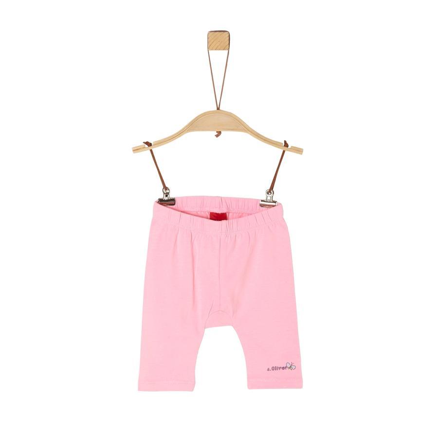 s.Oliver Capri leggings lys rosa