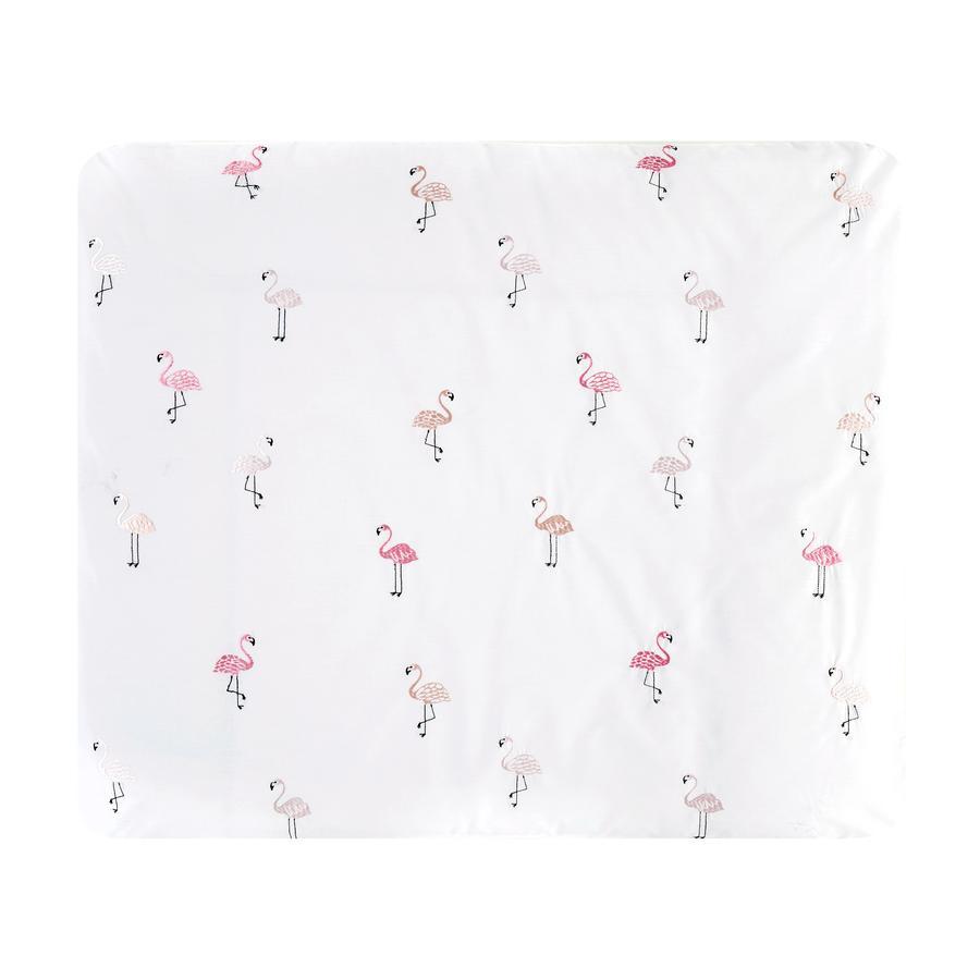 Alvi ® Okładka na maty do wymiany Flamingo 85 x 70 cm