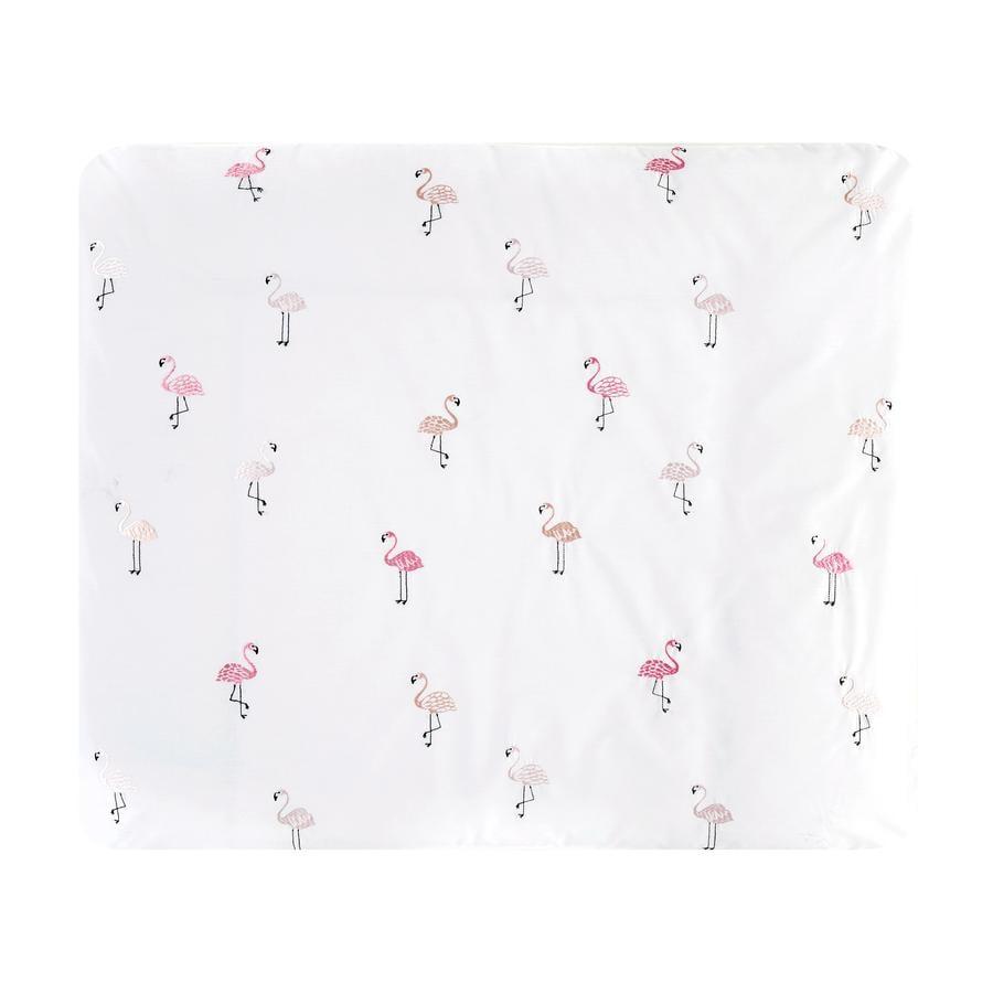 Alvi® Wickelauflagenbezug Flamingo 85 x 70 cm