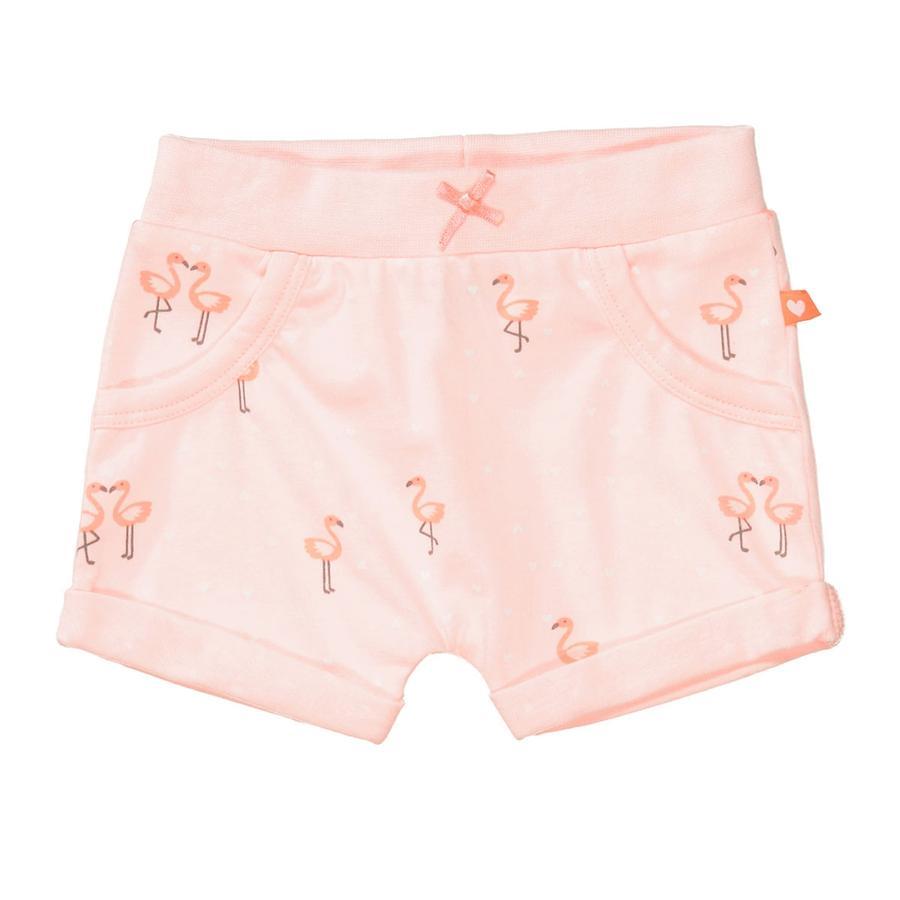 STACCATO  Shorts zacht peach patroon